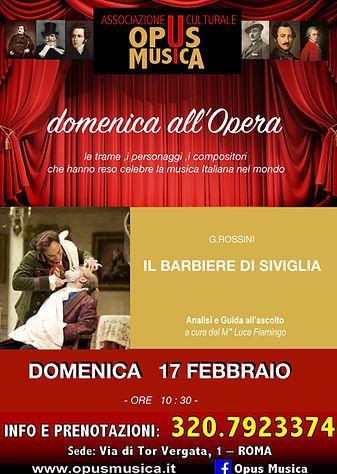 Domenica all'opera