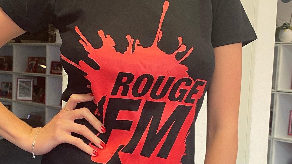 T-shirt Rouge FM (Lot de 2)