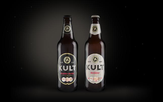 Дизайн этикетки Kult Криница