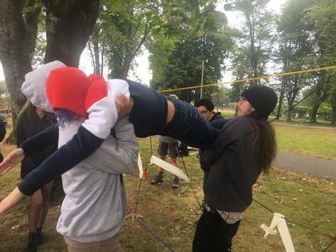 Team Building at Goodspeed Park