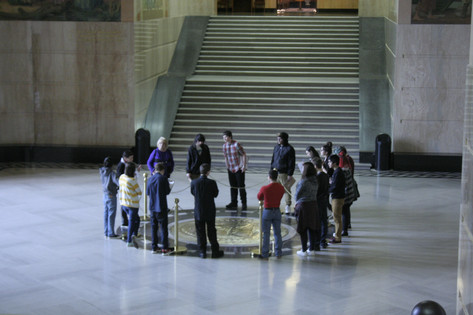 Mary's Class at the State Capitol