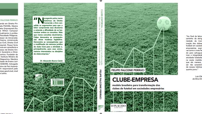Autor lançará, em breve, livro sobre Clube-Empresa
