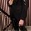 Thumbnail: ZAADY Blazer brodé de séquins