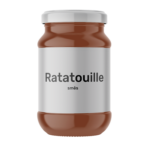 Ratatouille směs - dvojporce