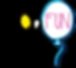 Logo globofun Transparencias con sombra.