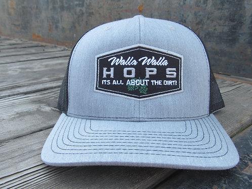Gray Hops Hat