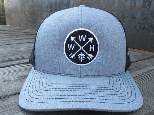 Gray Arrows Hat