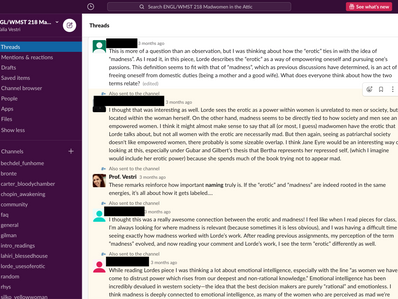 Using Slack for Teaching