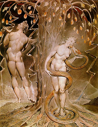 William_Blake,_The_Temptation_and_Fall_o