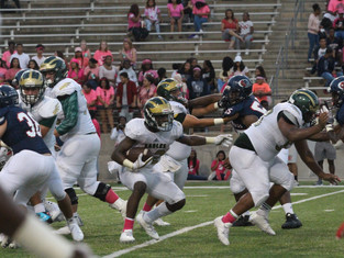 Cy Springs Photos - Breast Cancer Awareness game
