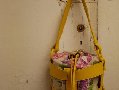 【フィレンツェ短期革留学day10】  レザーバスケットバッグが出来ました。