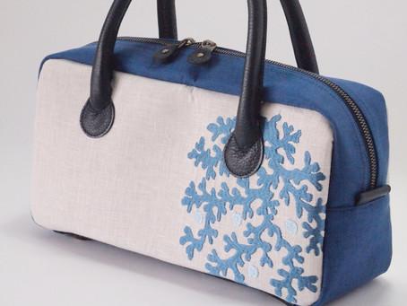 フレンチリネンのバッグが再販になります。