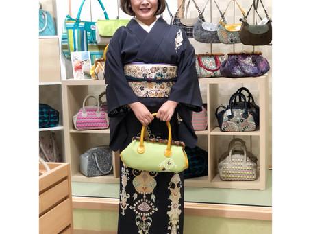 京都鞠小路スタイルの販売会始まりました。