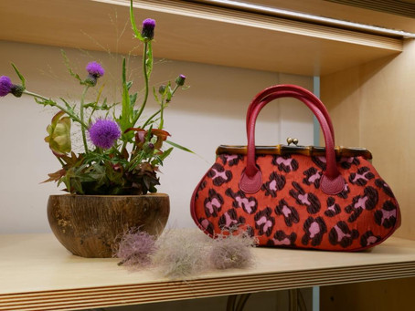 大好きなアザミの花@阪急百貨店10階梅田スーク中央街区