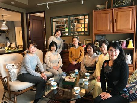 【アトリエ日記】お茶会開催いたしました。