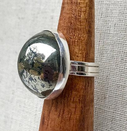 Mohawkite Ring