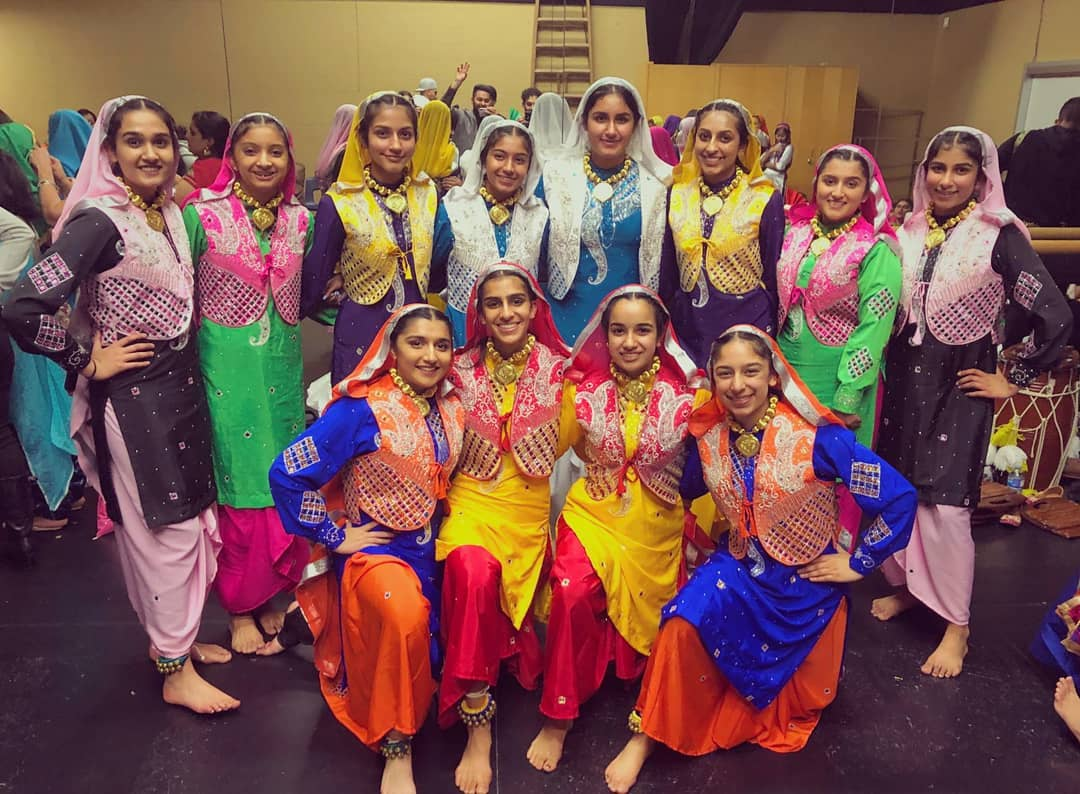 Competitive Bhangra