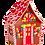 Thumbnail: Festive Ginger Bread House Lantern