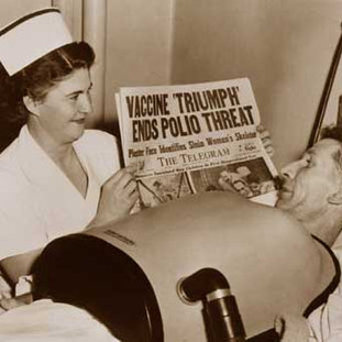 """The """"iron lung"""" that saved many polio victims"""
