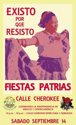 Fiestas Patrias Festival Poster