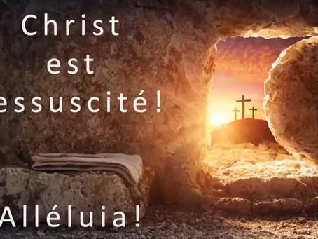 Osez la mort, Recevez la vie - Culte de Pâques dimanche 04 avril 2021