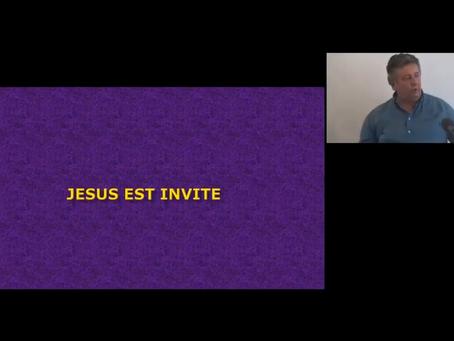 Jésus est invité - Culte du 11 juillet