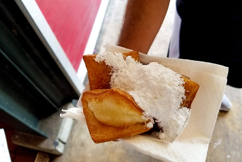 Beignets for Spectral City French Quarter Dessert Tour