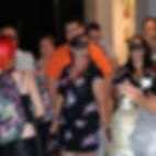 Tourists on Drunk and Haunted Small Group Walking Tour of New Orleans French Quarter