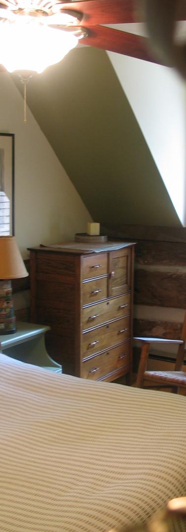 Master bedroom corner