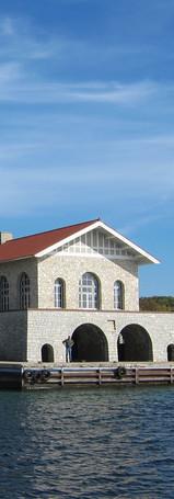 Boathouse on Rock Island