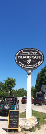 The Island Cafe is a great place to eat