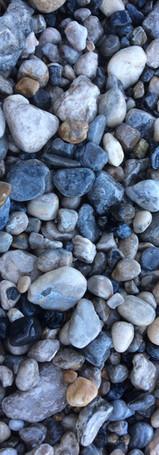 Shore rocks along Green Bay