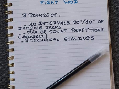 29/05/2020 - FIGHT WOD