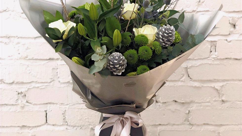 Festive White Bouquet