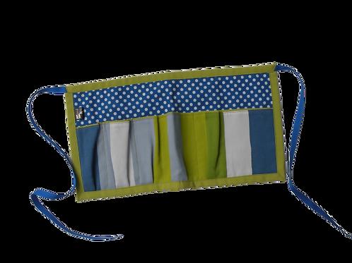 Tablier de bricolage en tissu recyclé pour enfants