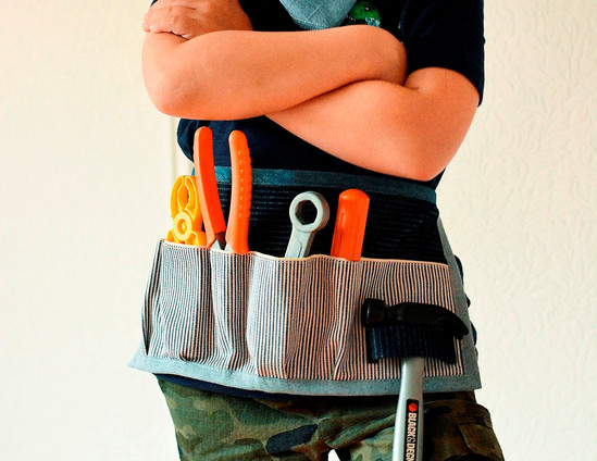 tablier-bricolage-outils-tissu-recycle