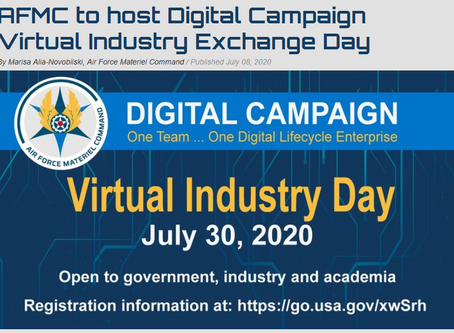 Virtual Industry Exchange Day