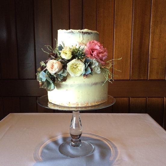 Modern Glass Cake Stand