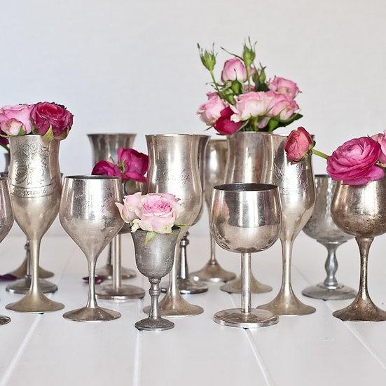 Vintage Silver Goblet