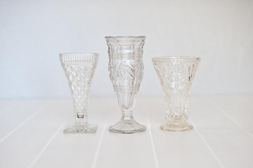 Vintage Crystal Small Vase