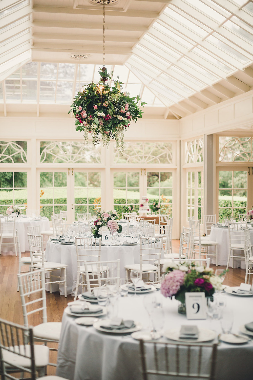 Garden elegance at in the Conservatory at Gabbinbar  Homestead