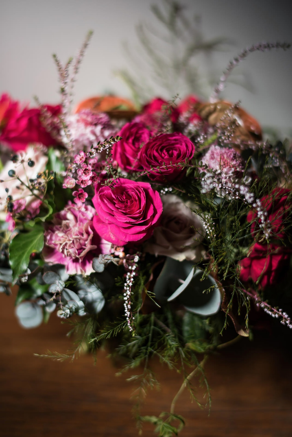 Deep texture and rich toned Bouquet