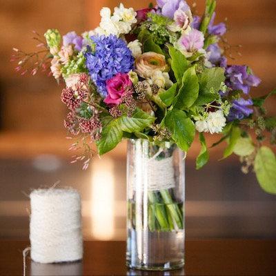 Assorted Cylindrical Vase