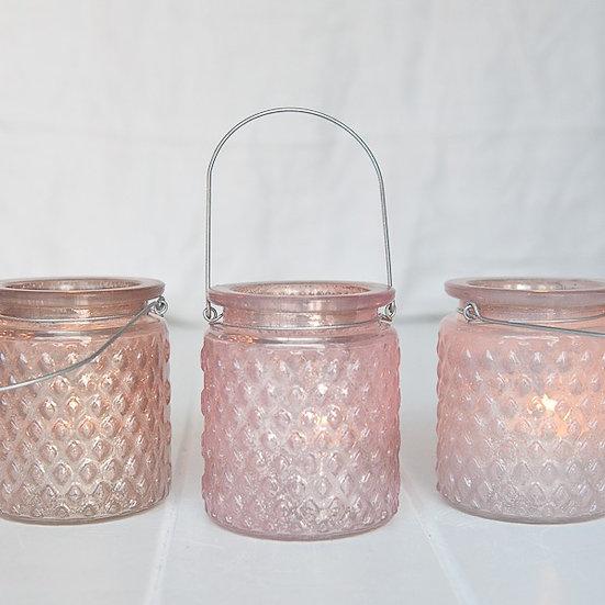Pastel Mercury Glass Lantern