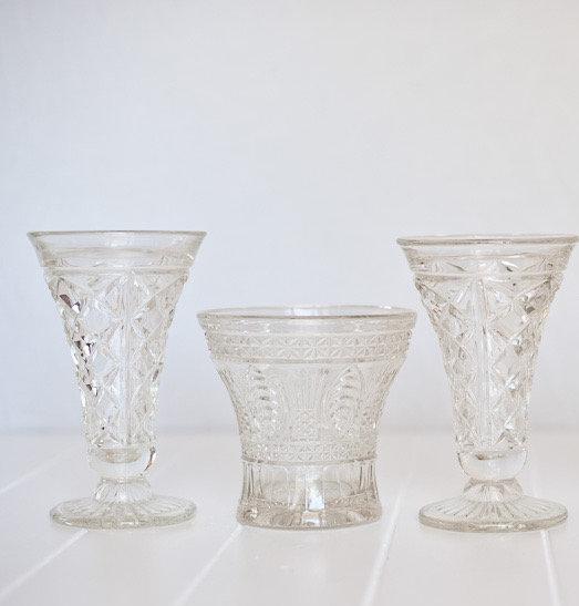 Vintage Crystal Medium Vase