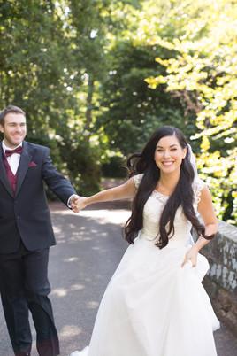 DALHOUSIE CASTLE EDINBURGH WEDDING : DESTINY + BOBBY