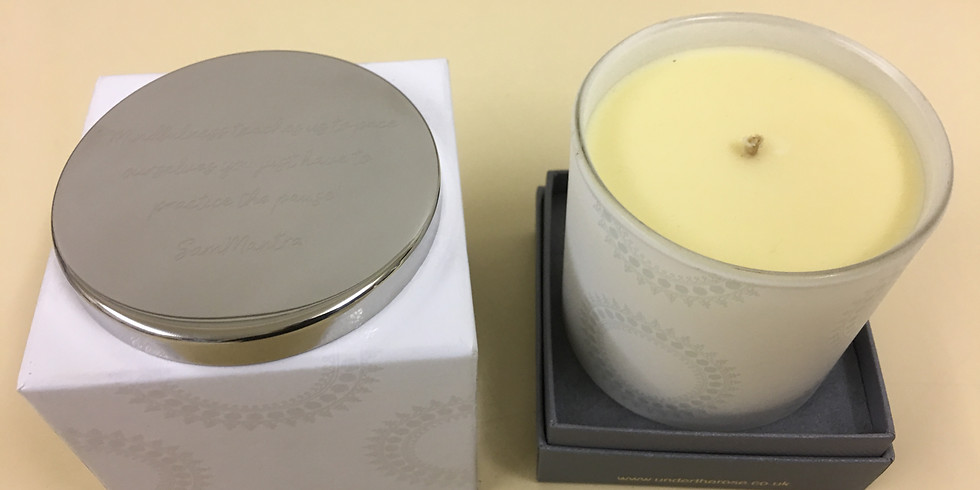 SamMantra 'Pause' Candle from Under the Rose