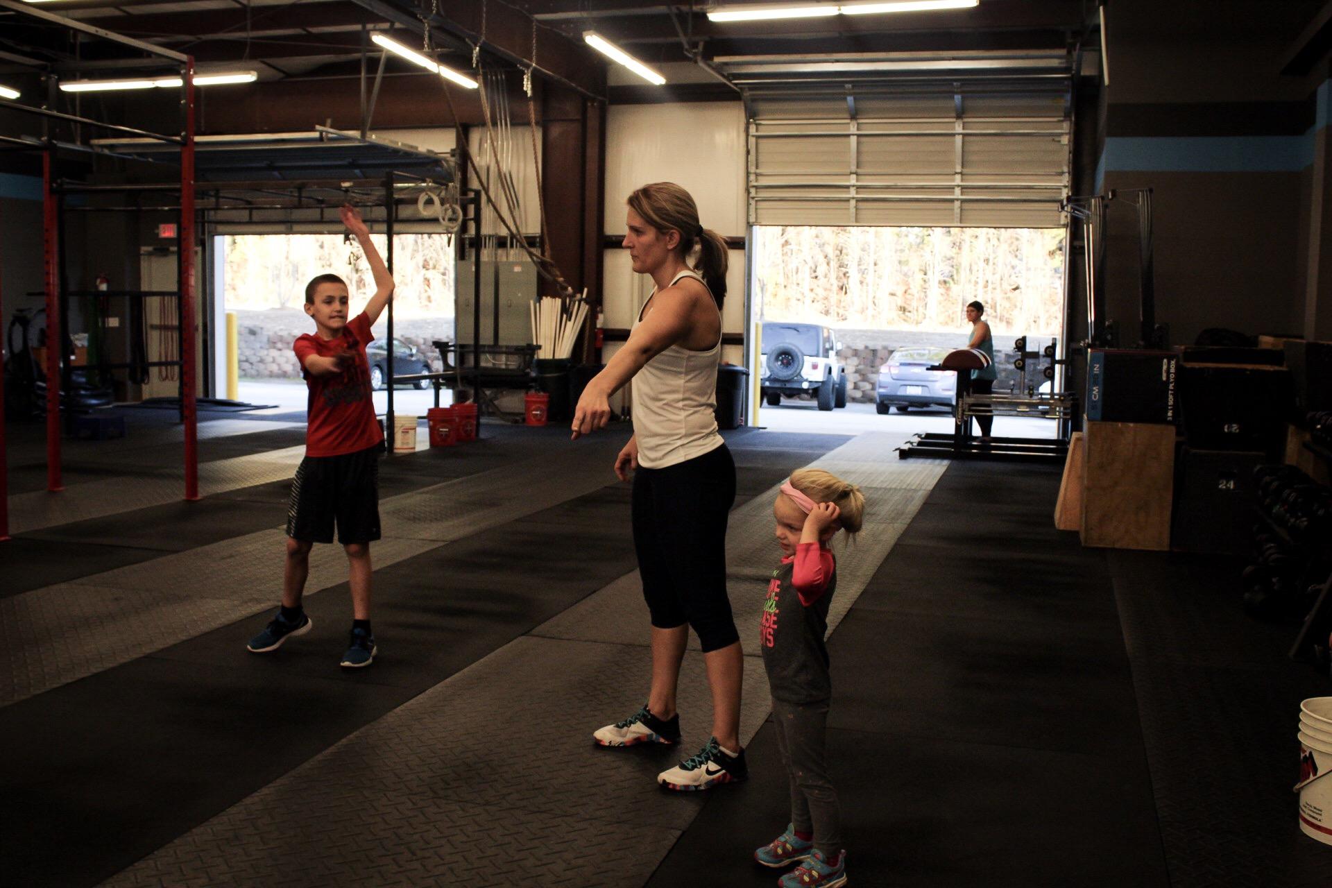 coaching kids fitness