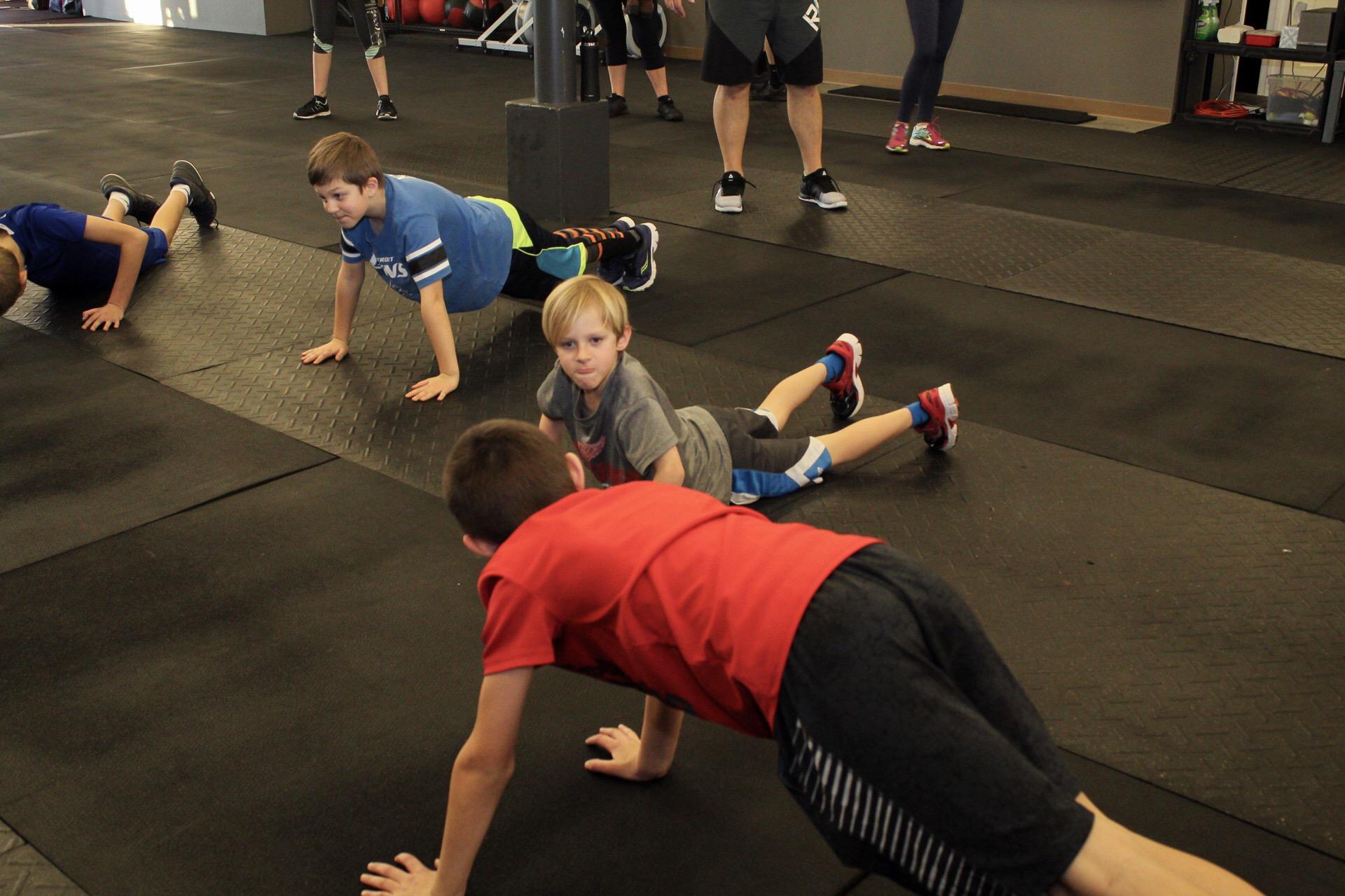 kids planks