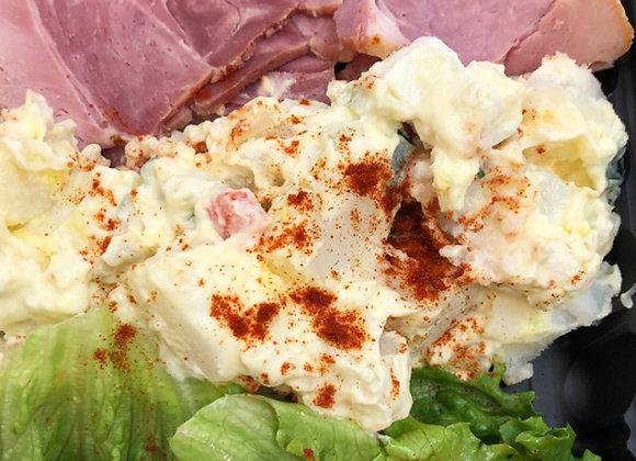 Ham & Potato Salad Cold Plate